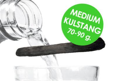 Medium Aktivt Kishu Binchotan kul fra Kulsort.dk. Passer til karafler og kander på ca. 1 liter