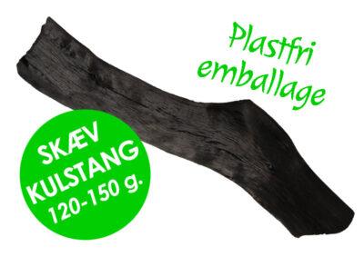 Skæve kulstænger, Kishu Binchotan fra Kulsort.dk