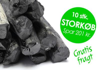 STORKØB - Spar 200 kr. på aktivt kul fra Kulsort.dk
